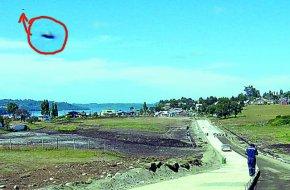 Otro Ovni en Chiloé