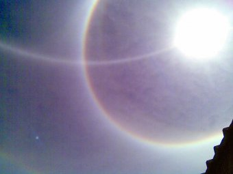 Extraño Fenómeno Solar en Mamiña
